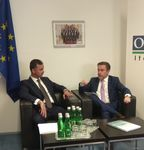 Meeting of the Deputy Minister of Foreign Affairs of the Republic of Tajikistan with the Chairman of the OSCE Permanent Council