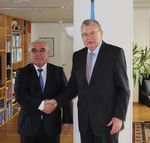 Meeting between Director of the DCA under the President of the Republic of Tajikistan and Executive Director of the UNODC