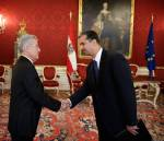 Presenting of Credentials by Tajikistan Ambassador to the President of Austria